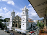 Cathedral in the Old City, San Felipe District, Panama City, Panama, Central America Photographic Print by Sergio Pitamitz