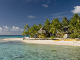 Pearl Beach Resort, Tikehau, Tuamotu Archipelago, French Polynesia Islands Lmina fotogrfica por Sergio Pitamitz