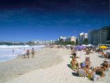 Copacabana Beach, Rio De Janeiro, Brazil, South America Photographie par Sergio Pitamitz