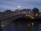 Half Penny Bridge Over Liffey River, Dublin, County Dublin, Republic of Ireland Photographic Print by Sergio Pitamitz