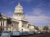 Capitolo, Central Area, Havana, Cuba, West Indies, Central America Photographic Print by Sergio Pitamitz