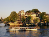 Amstel, Amsterdam, the Netherlands (Holland) Photographic Print by Sergio Pitamitz