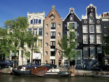 Prinsengracht, Amsterdam, the Netherlands (Holland) Photographic Print by Sergio Pitamitz