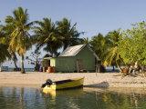 Tikehau, Tuamotu Archipelago, French Polynesia Islands Photographic Print by Sergio Pitamitz