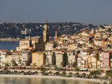 Menton, Alpes Maritimes, Provence, Cote d'Azur, French Riviera, France, Mediterranean Photographic Print by Sergio Pitamitz