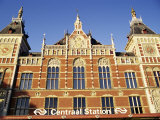 Central Station, Amsterdam, the Netherlands (Holland) Photographic Print by Sergio Pitamitz