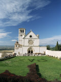 Basilica Di San Francesco, Where the Body of St. Francis was Placed in 1230, Assisi, Umbria Photographic Print by Sergio Pitamitz