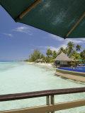 Kia Ora Resort, Rangiroa, Tuamotu Archipelago, French Polynesia Islands Photographic Print by Sergio Pitamitz