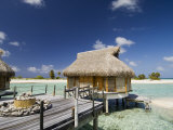 Pearl Beach Resort, Tikehau, Tuamotu Archipelago, French Polynesia Islands Photographic Print by Sergio Pitamitz