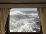 View from Cabin on Antarctic Dream Navigation on Rough Seas Near Cape Horn Photographic Print by Sergio Pitamitz