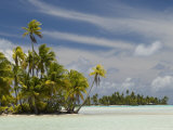 Blue Lagoon, Rangiroa, Tuamotu Archipelago, French Polynesia Islands Photographic Print by Sergio Pitamitz
