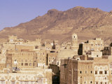 Old Town, Sana'A, Unesco World Heritage Site, Republic of Yemen, Middle East Photographic Print by Sergio Pitamitz