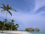 Soneva Gili Resort, Lankanfushi Island, North Male Atoll, Maldives, Indian Ocean Photographic Print by Sergio Pitamitz