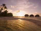 Pearl Beach Resort, Tikehau, Tuamotu Archipelago, French Polynesia Islands Photographie par Sergio Pitamitz