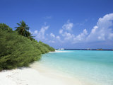 Asdu Island, North Male Atoll, Maldives, Indian Ocean Photographic Print by Sergio Pitamitz
