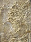 Detail of Stela II, Bonampak, Chiapas Province, Mexico, North America Photographic Print by Sergio Pitamitz