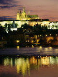 Prague Castle and St. Vitus Cathedral, Prague, Czech Republic Photographic Print by Sergio Pitamitz
