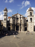Piazza Della Cattedrale, Habana Vieja, Havana, Cuba, West Indies, Central America Photographic Print by Sergio Pitamitz