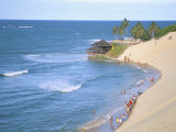Beach, Sand Dunes and Bar 21, Genipabu, Natal, Rio Grande Do Norte State, Brazil, South America Photographie par Sergio Pitamitz