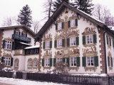 Hansel and Gretel House, Oberammergau, Bavaria, Germany Fotoprint van Sergio Pitamitz