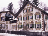 Hansel and Gretel House, Oberammergau, Bavaria, Germany Lámina fotográfica por Sergio Pitamitz