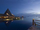 Kia Ora Resort, Rangiroa, Tuamotu Archipelago, French Polynesia Islands Photographie par Sergio Pitamitz