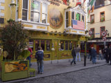 The Oliver St. John Gogarty Pub, Temple Bar, Dublin, County Dublin, Republic of Ireland (Eire) Lámina fotográfica por Sergio Pitamitz