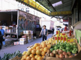 Fruit and Vegetable Stall, China Town, Manhattan, New York, New York State, USA Photographic Print by Yadid Levy