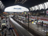 Hamburg Central Train Station, Hamburg, Germany Photographic Print by Yadid Levy