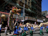 Chinese Parade, China Town, Manhattan, New York, New York State, USA Photographic Print by Yadid Levy