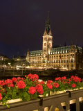Hamburg City Hall in the Altstadt (Old Town), Hamburg, Germany Photographic Print by Yadid Levy