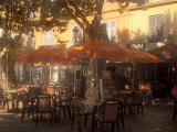 Sidewalk Cafe, Bastia, Corsica, France, Mediterranean Photographic Print by James Gritz