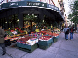 Grocery Shop, Brooklyn, New York, New York State, USA Photographic Print by Yadid Levy