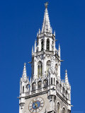 City Hall Tower at Marienplatz, Munich, Bavaria, Germany Photographic Print by Yadid Levy