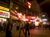 Reeperbahn, the Red Light District, St. Pauli, Hamburg, Germany Photographic Print by Yadid Levy