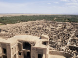 Abandoned Town from Citadel, Bam, Iran, Middle East Photographic Print by Sergio Pitamitz