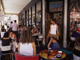 Trendy Cafe in Long Street, Cape Town, South Africa, Africa Photographic Print by Yadid Levy