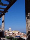 Miradouro De Santa Luzia with a View Over the Moorish Quarter, the Alfama, Lisbon, Portugal Photographic Print by Yadid Levy