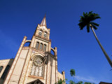 Cathedral of St. Louis in the Centre of Fort De France, Martinique, Lesser Antilles Photographic Print by Yadid Levy