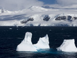 Icebergs, Lemaire Channel, Weddell Sea, Antarctic Peninsula, Antarctica, Polar Regions Photographic Print by Thorsten Milse