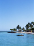 Pigeon Point Beach, Tobago, West Indies, Caribbean, Central America Photographie par Yadid Levy