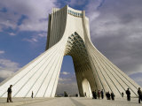 Azadi Tower, Teheran, Iran, Middle East Photographic Print by Sergio Pitamitz