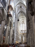 Interior, Cologne Cathedral, Cologne, North Rhine Westphalia, Germany Photographic Print by Yadid Levy