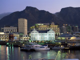 The Victoria and Alfred Waterfront, in the Evening, Cape Town, South Africa, Africa Photographic Print by Yadid Levy