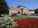 The State Theater, Schlossplatz, Stuttgart, Baden Wurttemberg, Germany Photographic Print by Yadid Levy
