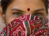Teenage Girl, Tala, Bandhavgarh National Park, Madhya Pradesh, India Photographic Print by Thorsten Milse
