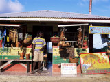 Colourful Souvenir Shop, Speyside, Tobago, West Indies, Caribbean, Central America Photographic Print by Yadid Levy
