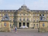 Neues Schloss, Schlossplatz (Palace Square), Stuttgart, Baden Wurttemberg, Germany Photographic Print by Yadid Levy