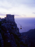 Cable Car Going up Table Mountain, Cape Town, South Africa, Africa Photographic Print by Yadid Levy