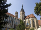 Stiftskirche Church, Stuttgart, Baden Wurttemberg, Germany Photographic Print by Yadid Levy